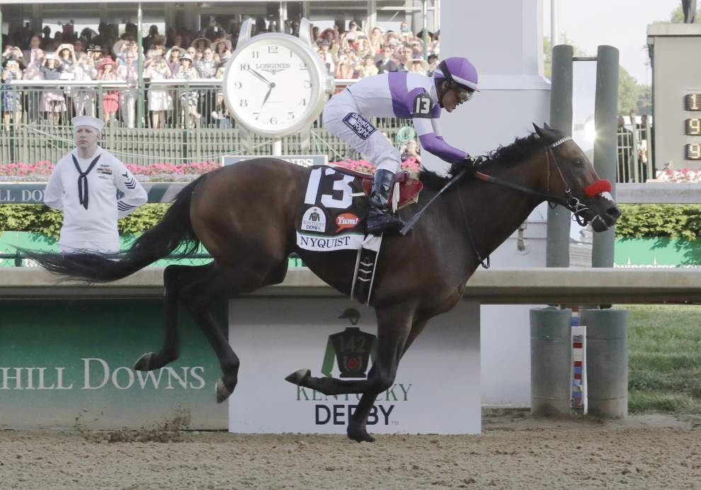 Results not ideal, but 'Super Bowl-esque' feeling around Benson's horses in Kentucky Derby well worth it for GMB Racing _lowres