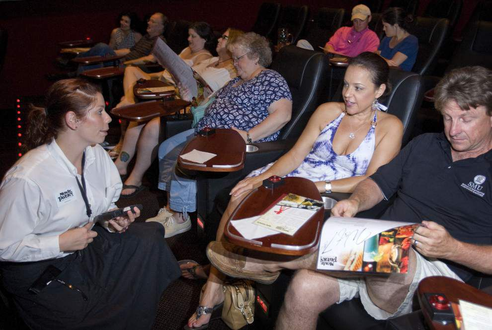 Baton Rouge Movie Tavern sets opening date in August; luxury seats, food, beer, wine, mixed drinks among amenities _lowres