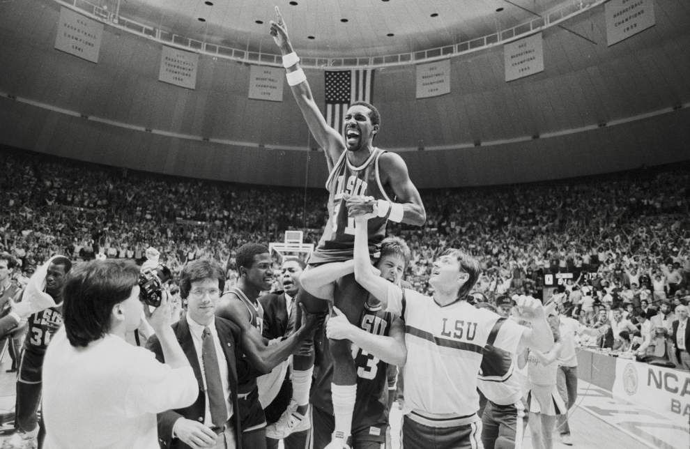 1986 Final Four: LSU Tigers chartered a charmed ride _lowres