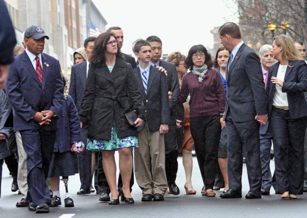 Tributes planned to mark Boston Marathon bombing _lowres
