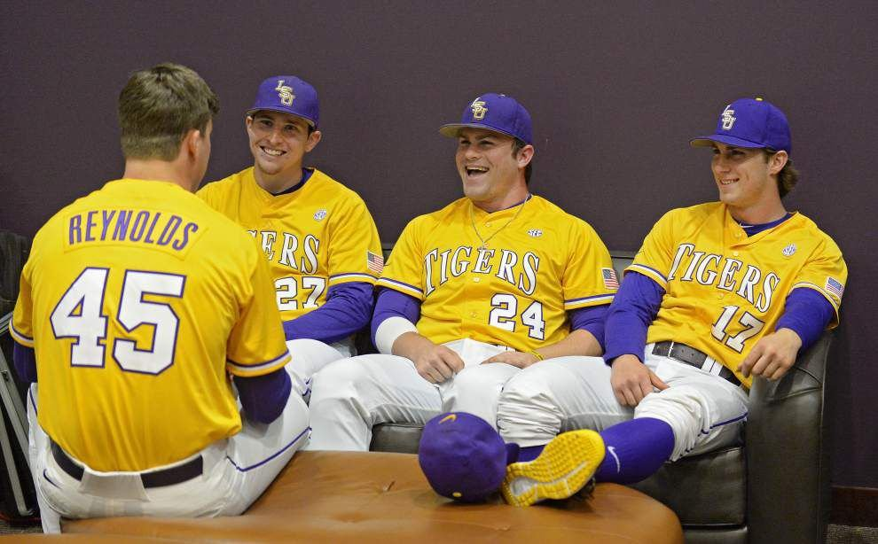 LSU baseball picked to win SEC West; four Tigers on All-SEC teams _lowres