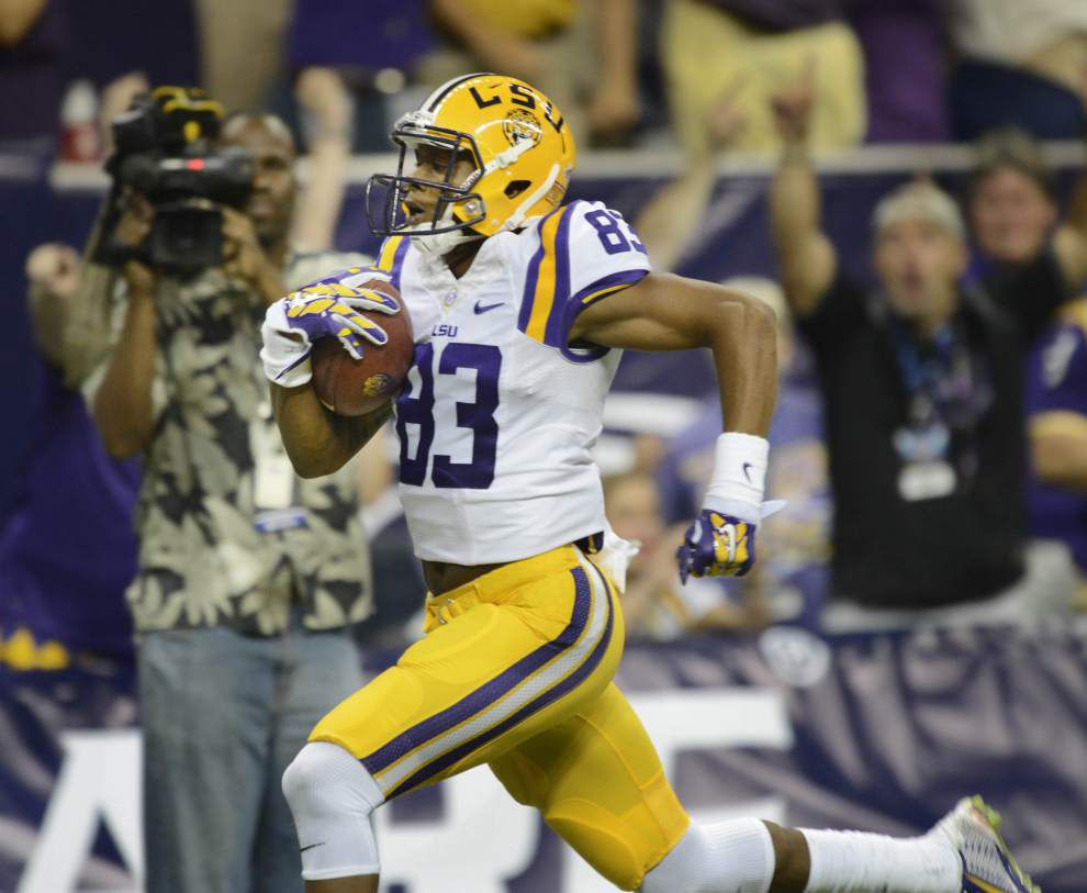 LSU receivers on high alert for Ole Miss' stout secondary _lowres
