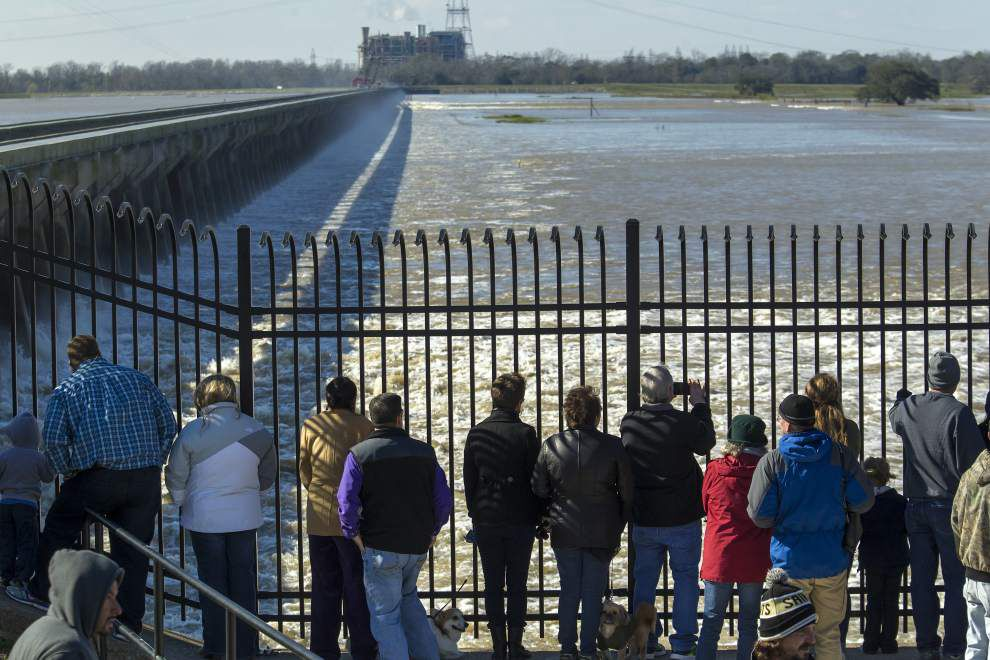 'It's an engineering miracle': Bonnet Carre Spillway opens Sunday, the earliest opening in its 85-year history _lowres