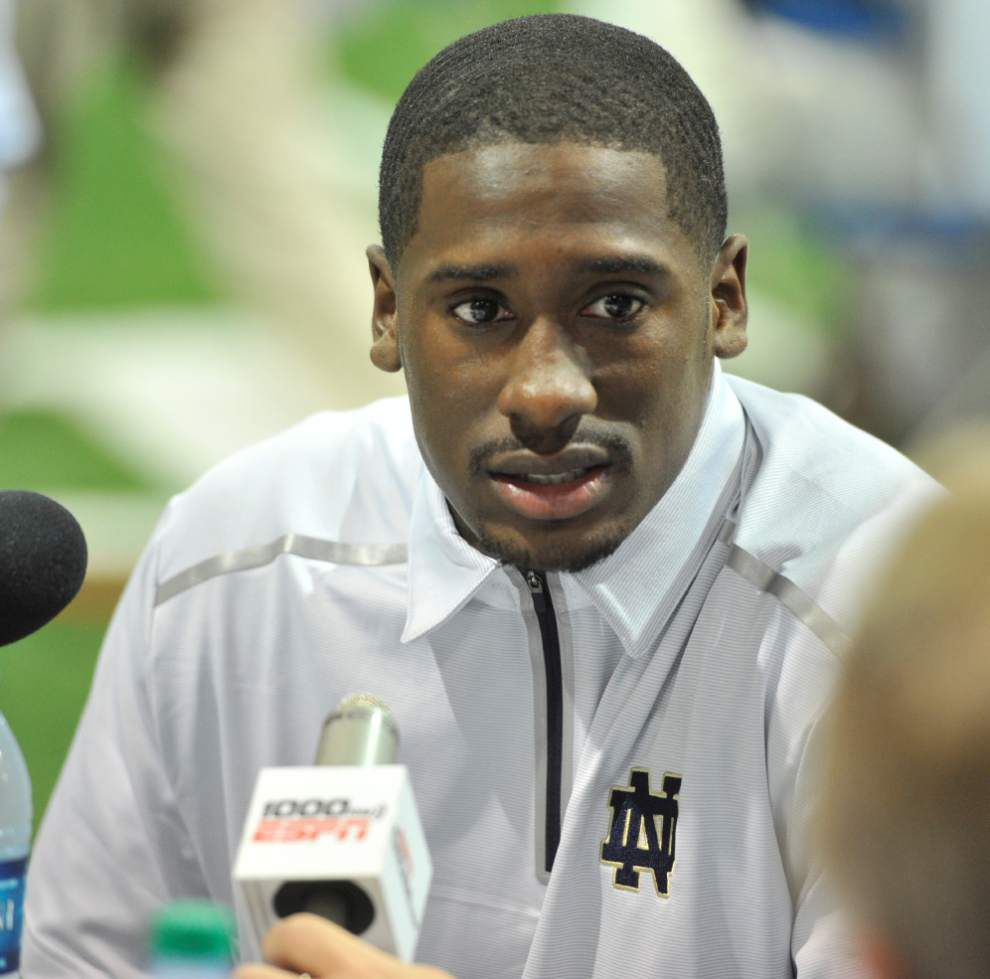 Is LSU in the running to land Notre Dame quarterback Everett Golson, or not? _lowres