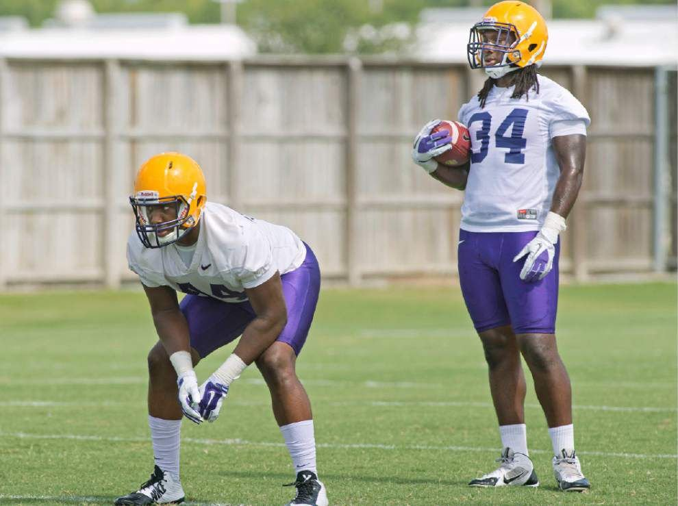 Don't forget about him: LSU RB Darrel Williams poised to step into Kenny Hilliard's cleats _lowres