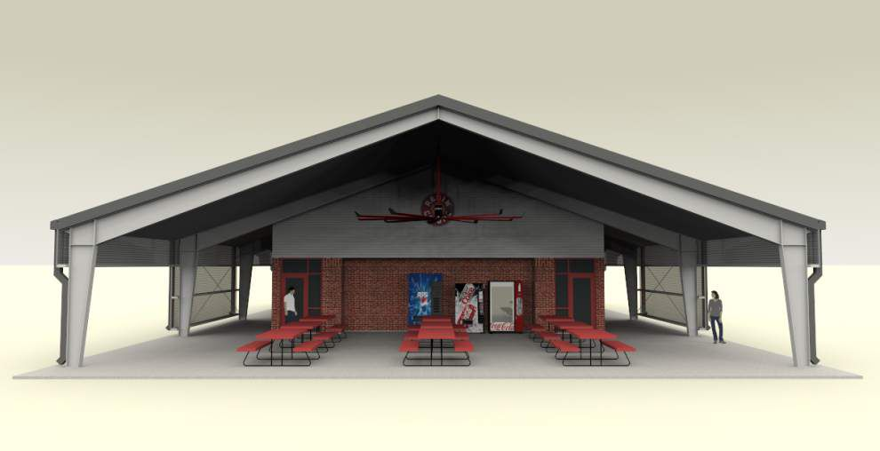 UL-Lafayette intramural sports complex construction nears completion; could open to students this fall _lowres