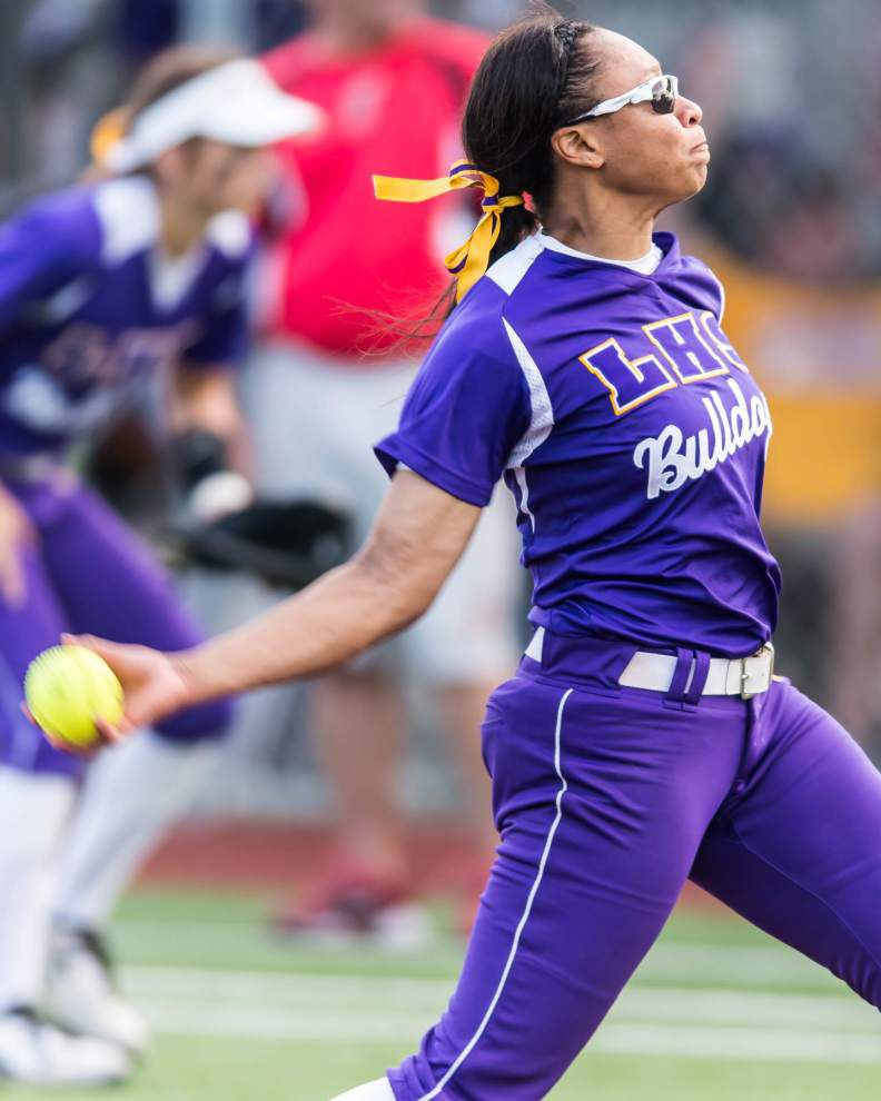 Parkview, Brusly, Live Oak, Catholic-Pointe Coupee fall in semifinals at state softball tournament _lowres
