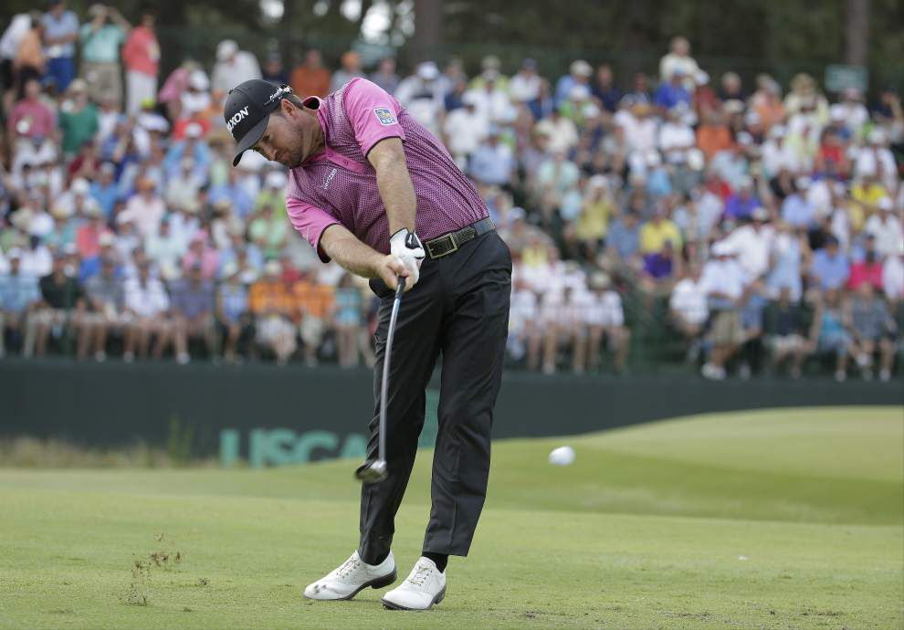 Martin Kaymer's on target at U.S. Open as Pinehurst No. 2 softens up _lowres