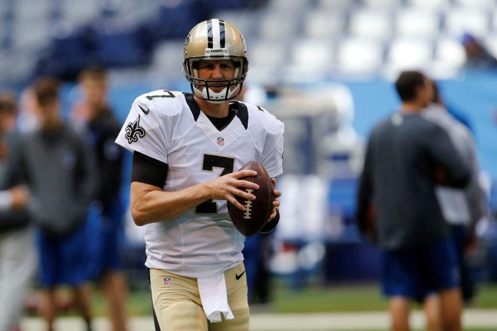 Saints quarterback Luke McCown's season-ending back injury didn't stem from single event _lowres