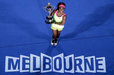 Serena Williams is AP's Female Athlete of the Year for the fourth time _lowres