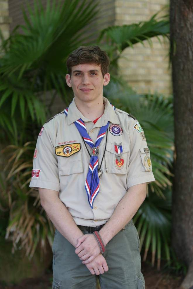 Flickinger earns Eagle Scout rank _lowres
