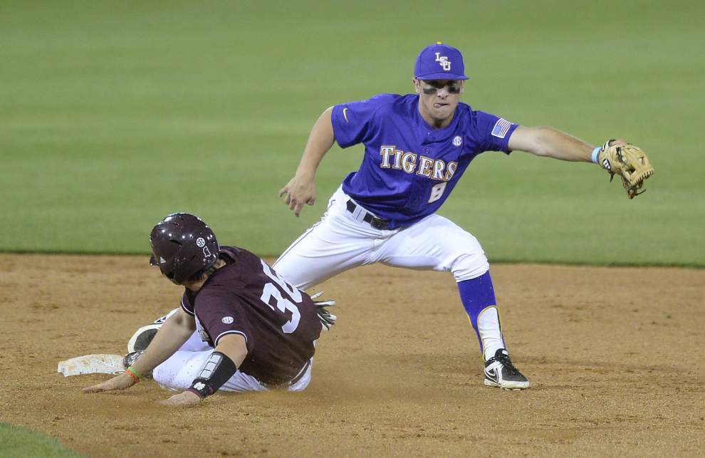 LSU baseball postgame: Tigers defeat Mississippi State 2-1 at Alex Box _lowres