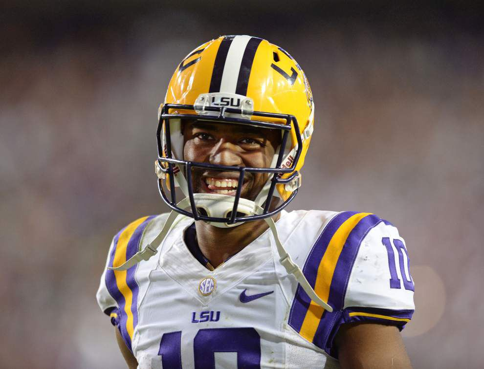 Video: LSU quarterback Anthony Jennings thinks he needs to improve his completion percentage _lowres