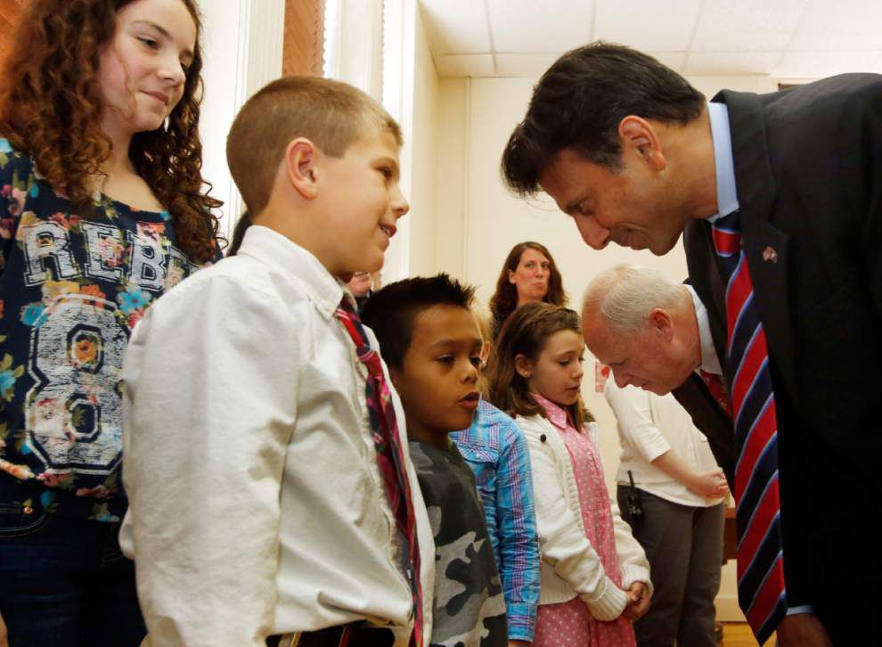 Inside Report: On the road with Gov. Jindal _lowres