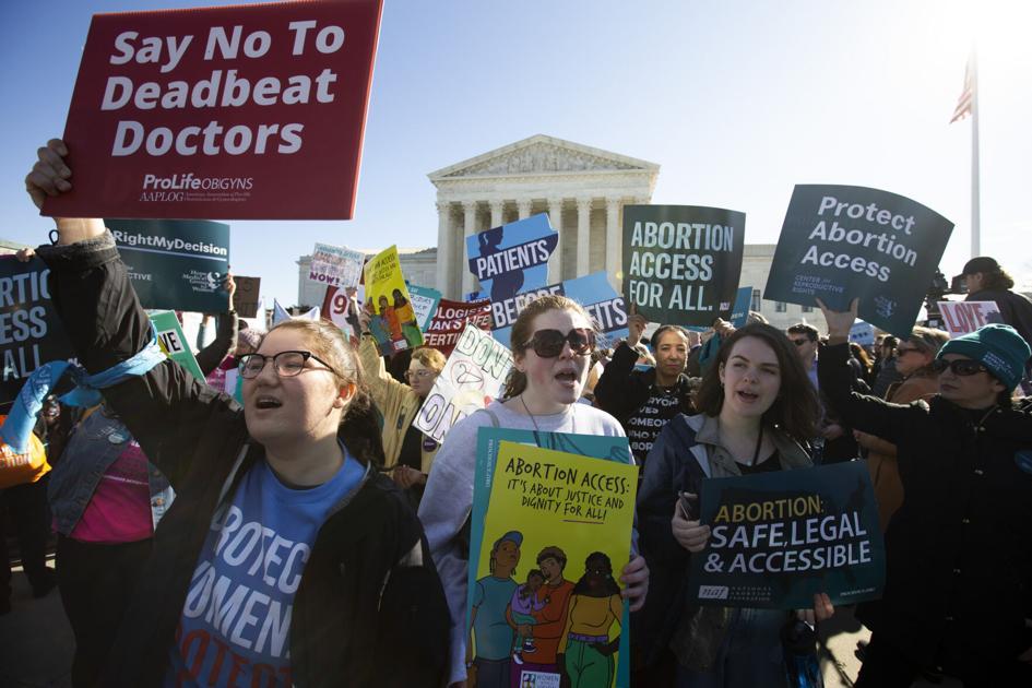 Mark Ballard: Abortion arguments in U.S. Supreme Court on the horizon
