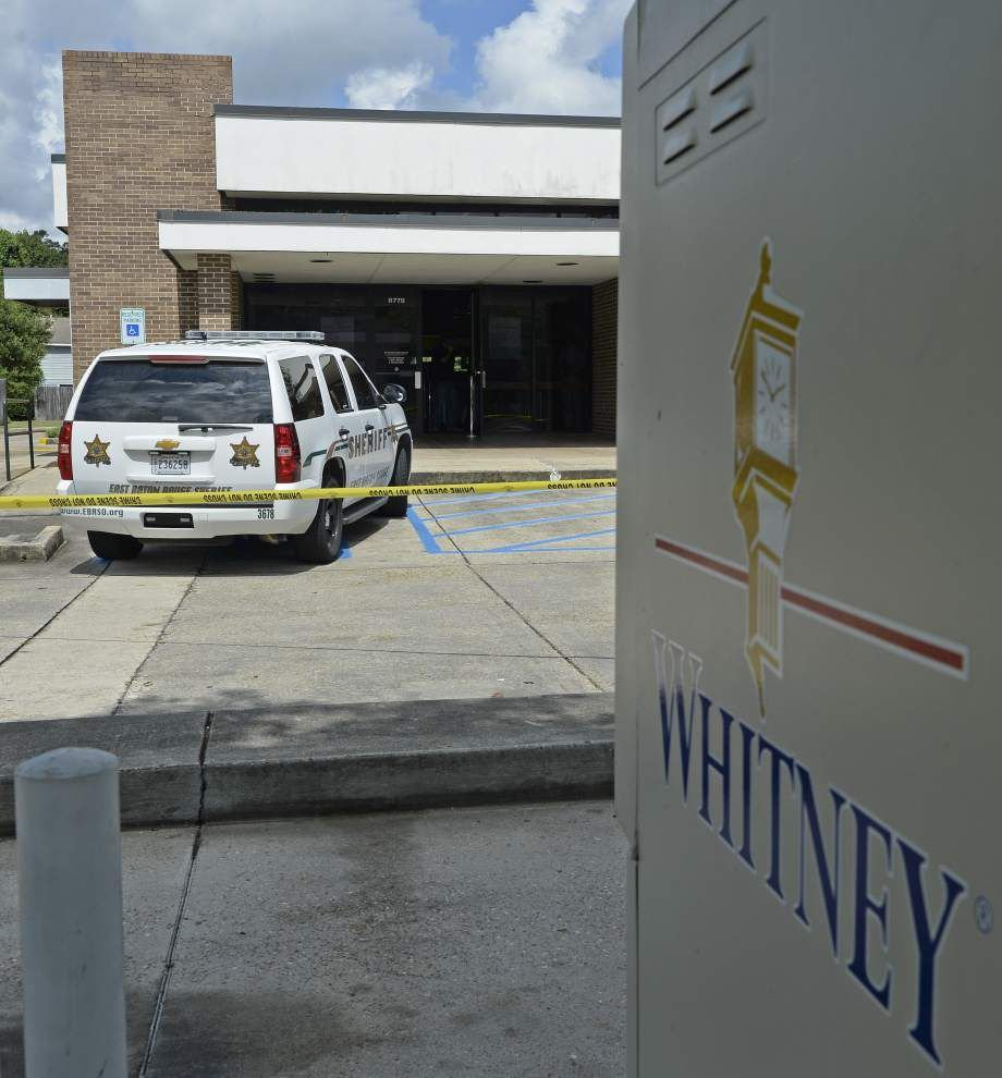 Arrest made in Whitney Bank armed robbery _lowres