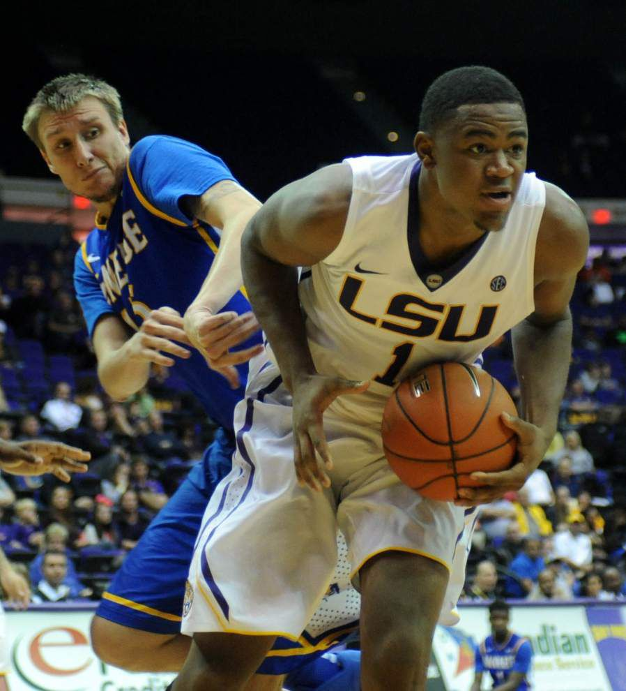 Break gives LSU basketball team time to rest, heal _lowres