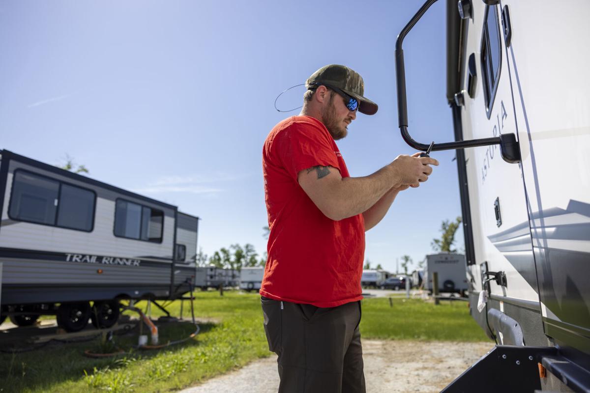 FEMA trailers in Lake Charles