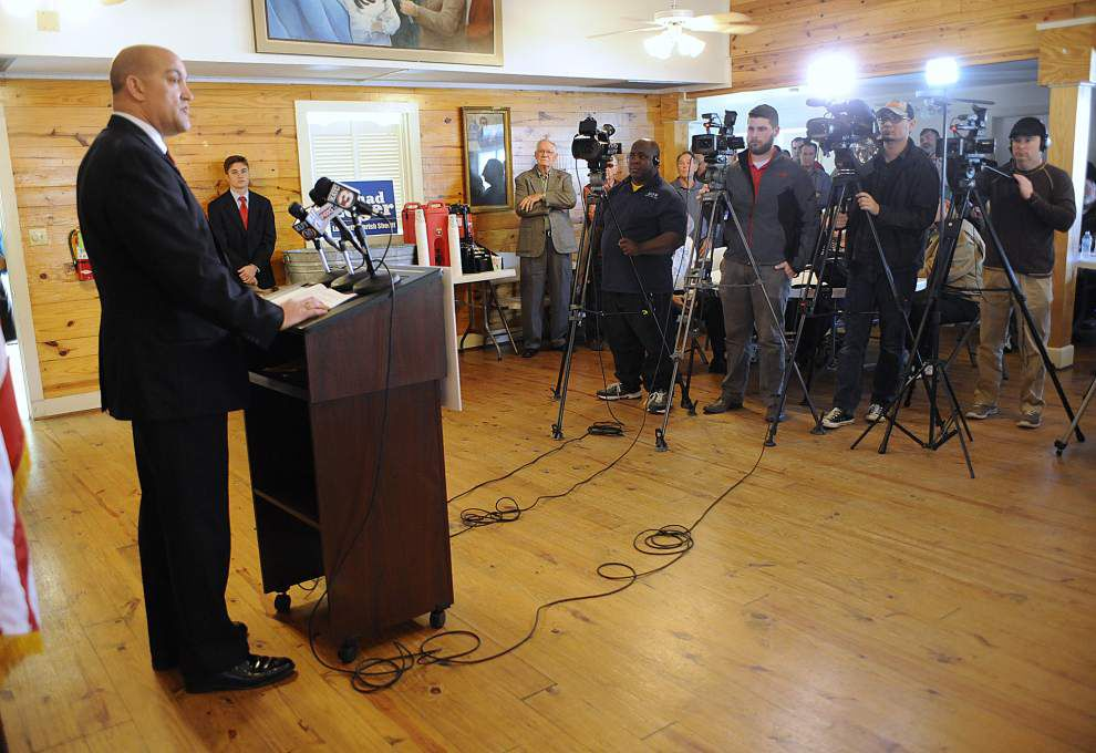 Scott Police Chief Chad Leger announces bid for Lafayette sheriff _lowres