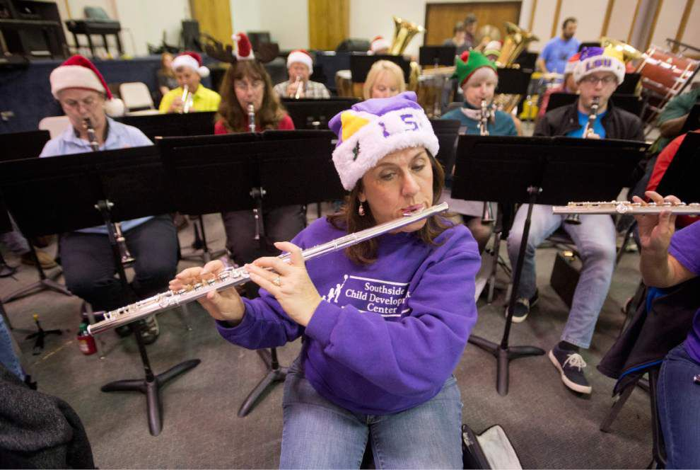Baton Rouge Concert Band prepares for annual Christmas show _lowres