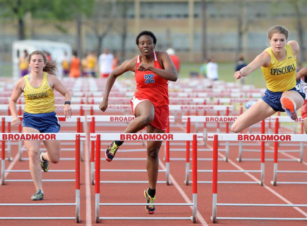 High school state track meets: Episcopal's Parish Kitto finds pole vault to her liking _lowres