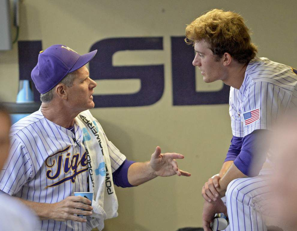 'We've been grooming him for almost two years': Jake Latz will start LSU's SEC tournament opener _lowres