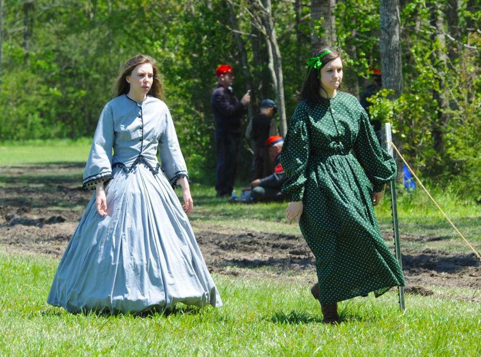 Siege of Port Hudson re-enacted in Jackson for its 153rd anniversary _lowres
