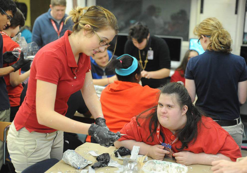 Lafayette teacher, student recognized for advocacy work for disabled _lowres