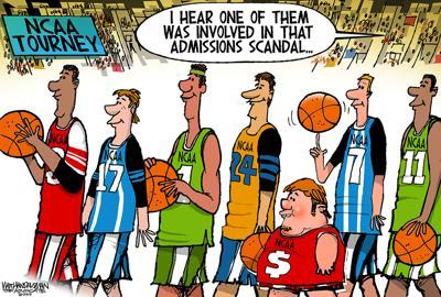 Walt Handelsman: Admissions Scandal