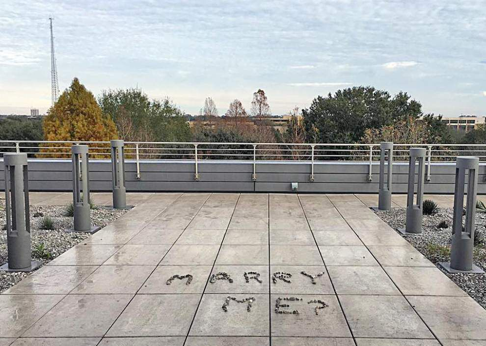 Baton Rouge library staffers trying to solve mystery of rooftop terrace marriage proposal _lowres