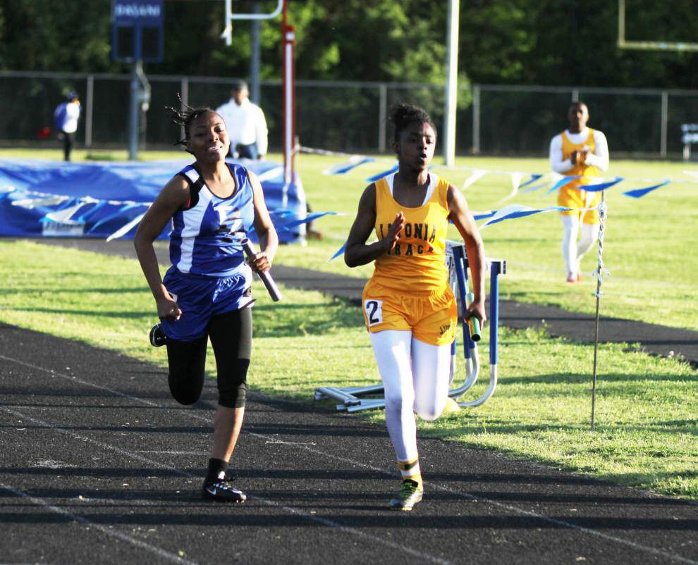 Port Allen boys, girls sweep John Williams Relays _lowres