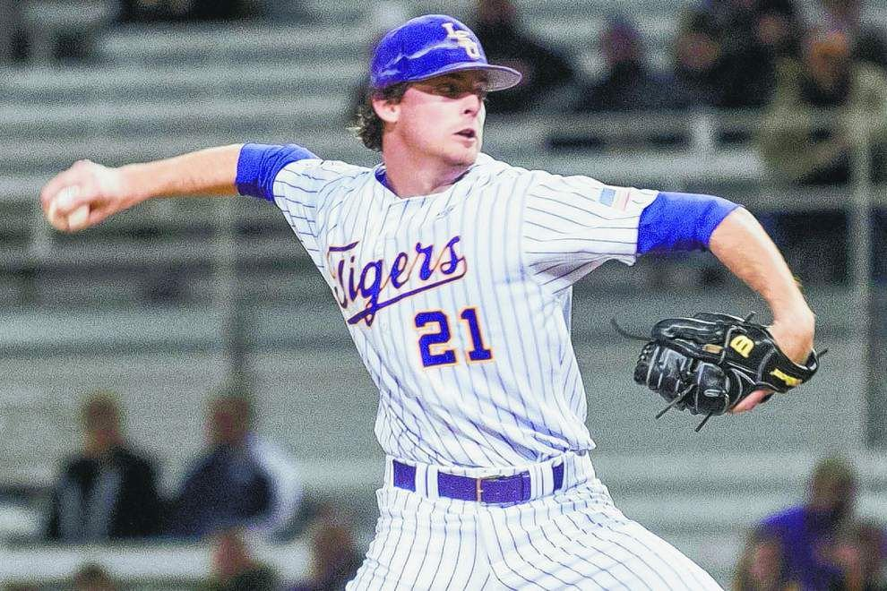 In new relief role, LSU freshman pitcher Doug Norman poised for return to special place _lowres