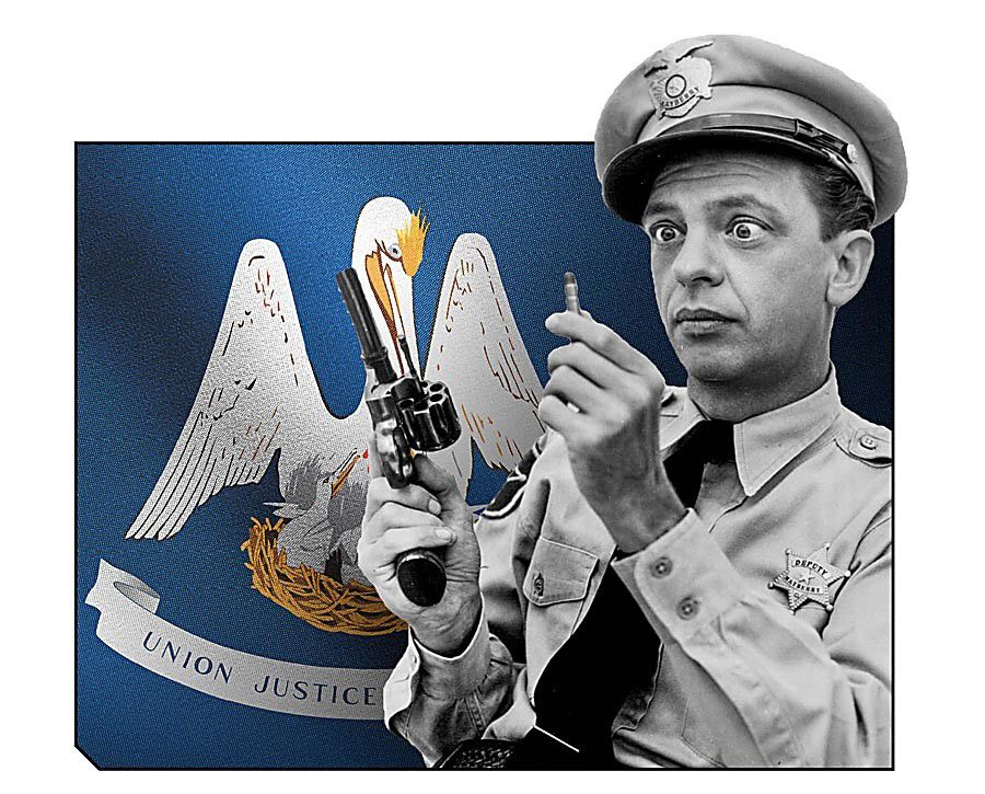 Commentary: Attorney General Barney Fife_lowres