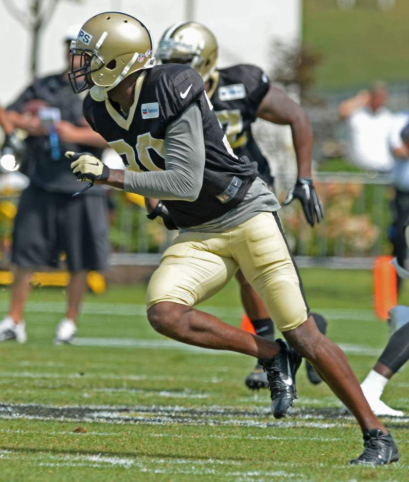 Saints safety Kenny Phillips relishes completion of long comeback tour _lowres
