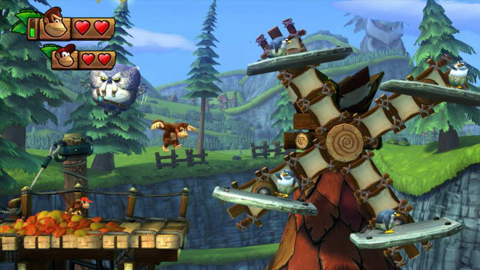 Donkey Kong stumbles in 'Tropical Freeze' _lowres