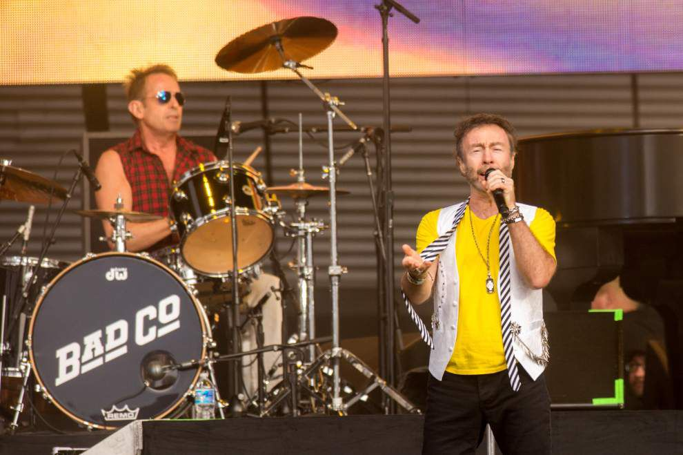 Joe Walsh and Bad Company dust off classic rock radio hits at New Orleans' Champions Square _lowres