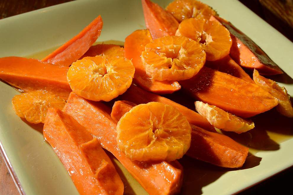 Eat Your Vegetables: Complement the season's first sweet potatoes _lowres