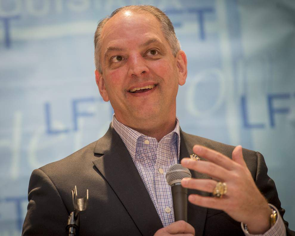 """Gov. John Bel Edwards blasts Bobby Jindal, calling him """"the most irresponsible governor who has ever governed Louisiana"""" _lowres"""