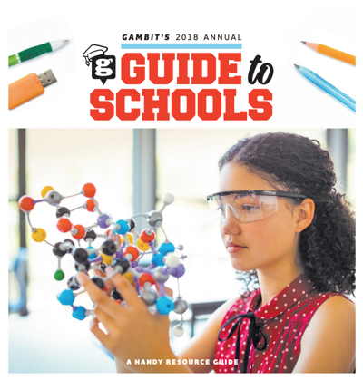 Gambit: Annual  Guide to Schools  2018
