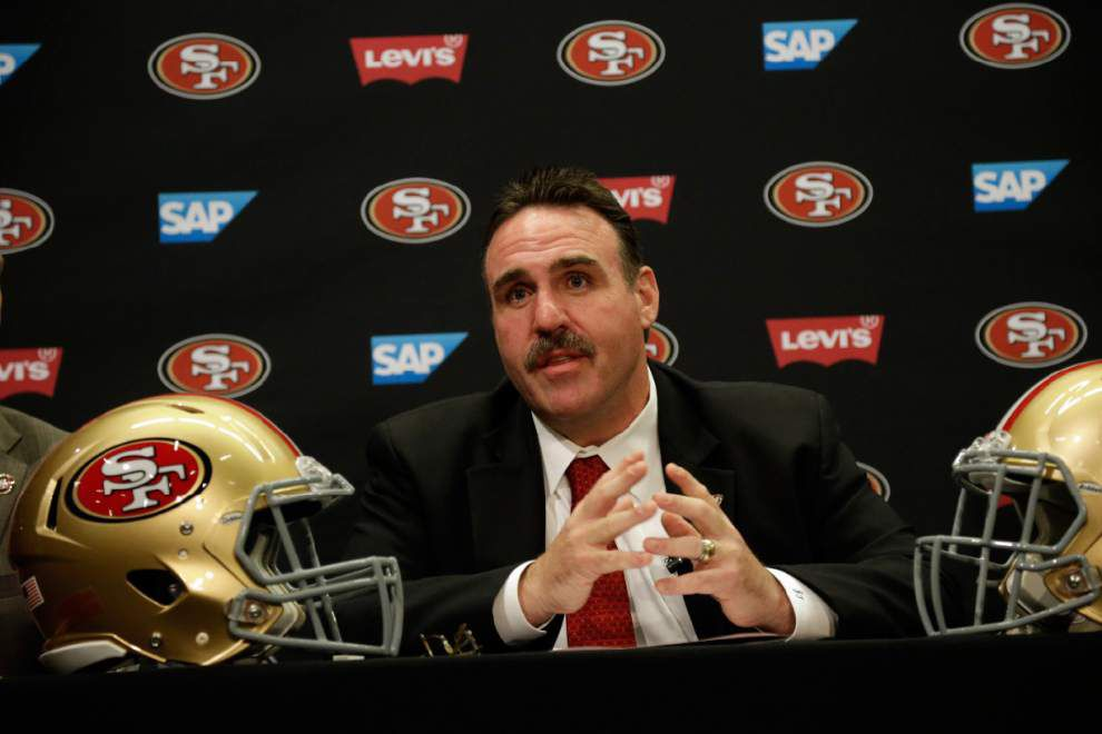 49ers introduce Jim Tomsula as new coach _lowres
