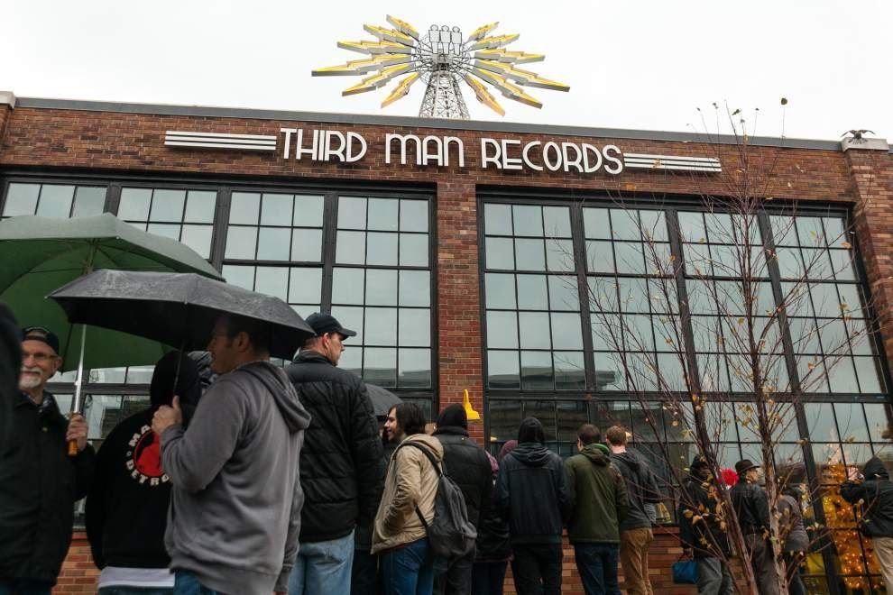 Jack White's record store opens in Detroit _lowres