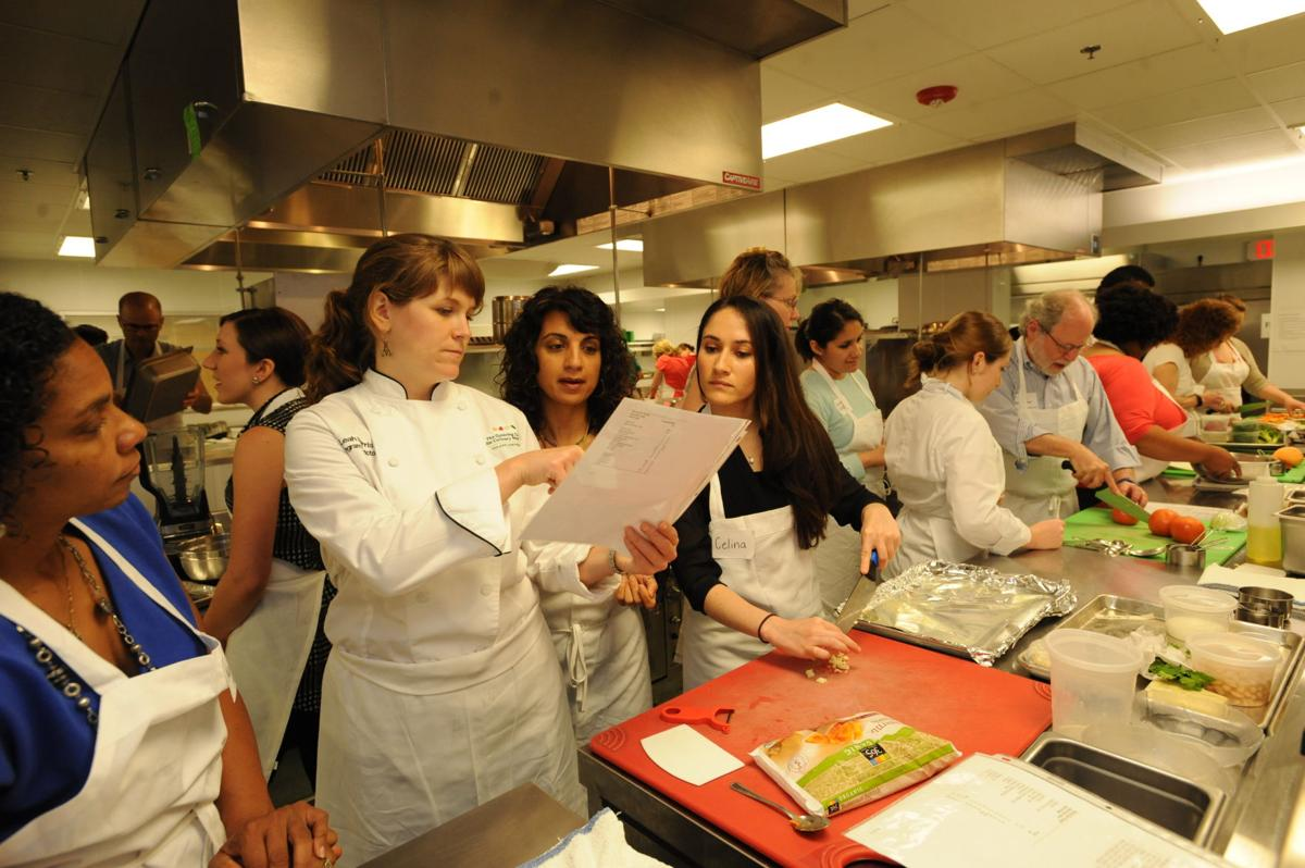Teaching Kitchen, Goldring Center for Culinary Medicine, June 2015