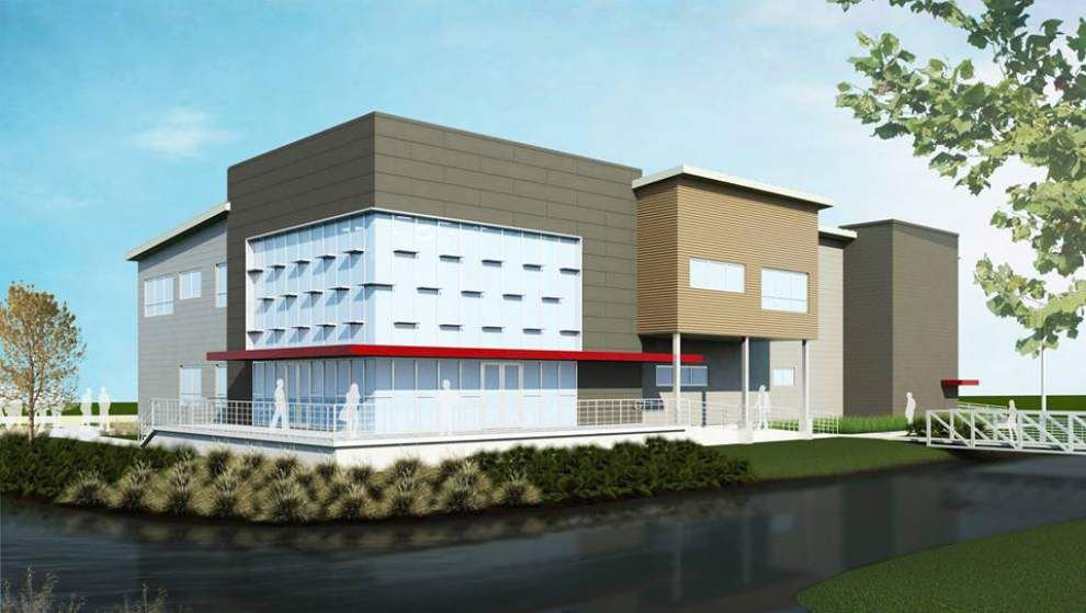 Delgado Community College breaks ground on new $7 million building project _lowres