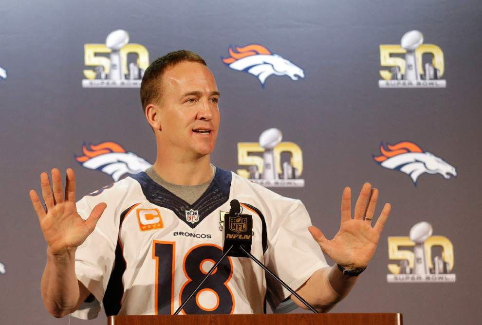 Scott Rabalais: The fitting ending to a stellar career, Peyton Manning steps aside at just the right time _lowres
