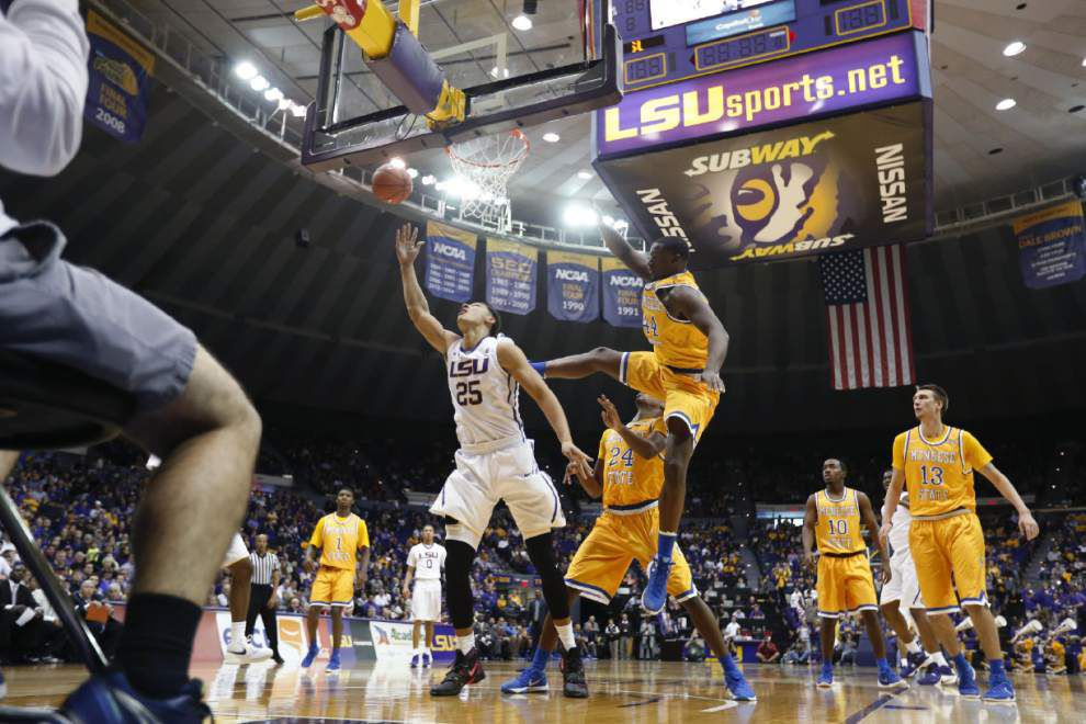 LSU men's basketball play strong game in 119-108 win over North Florida _lowres