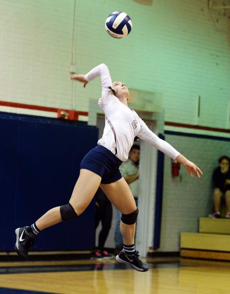 LHSAA volleyball playoff pairings _lowres