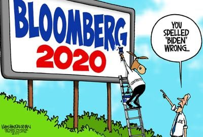 Walt Handelsman: Move Over Joe?