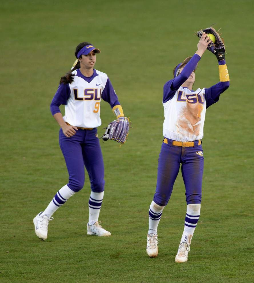Goals for LSU softball team: Get a weekend sweep, make some personnel decisions _lowres