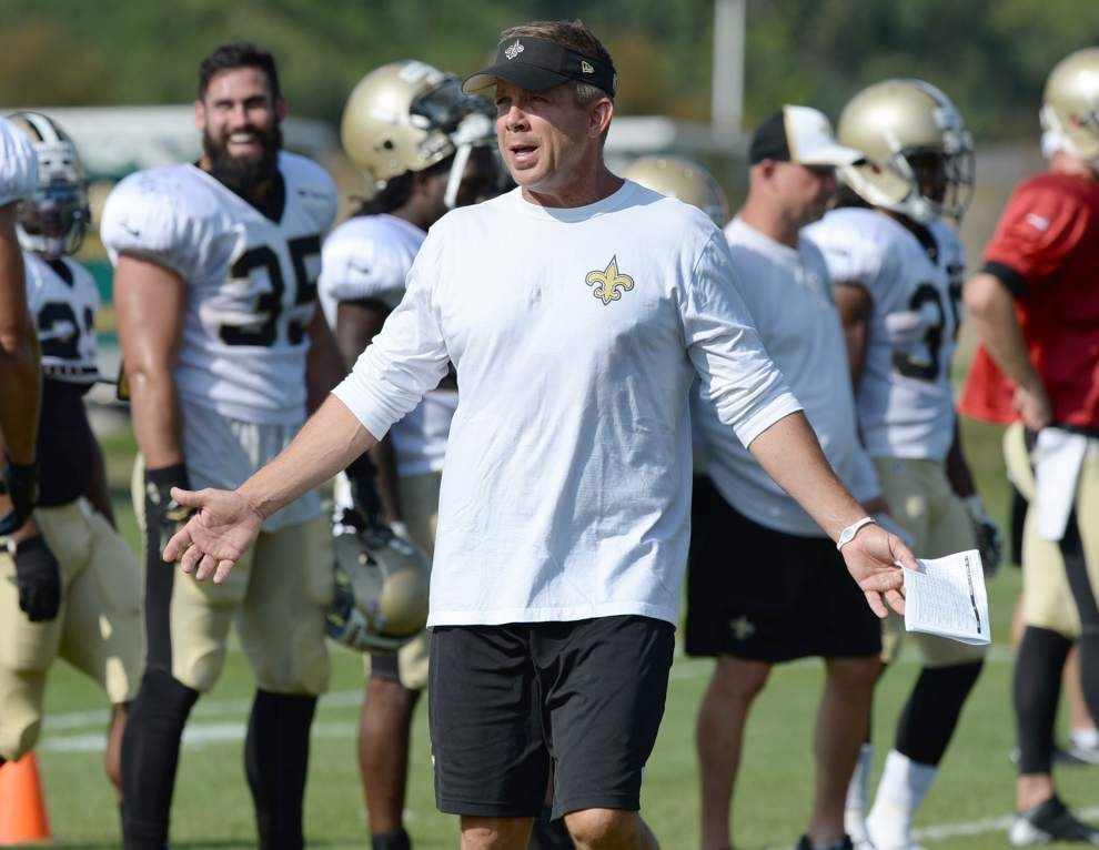 Sean Payton downplays a potential meeting the Rams' Gregg Williams _lowres