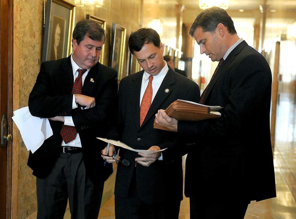 How are Louisiana House, Senate leaders faring with budget talks?: 'We're a lot closer right now than we were earlier,' speaker Chuck Kleckley says _lowres